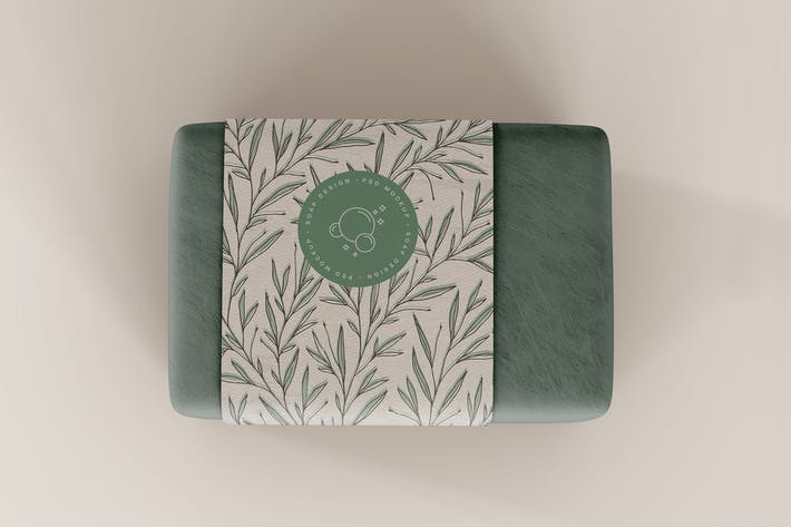 Thumbnail for Soap Packaging Mockup