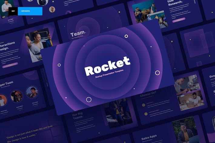 Ракета - стартовая презентация Keynote