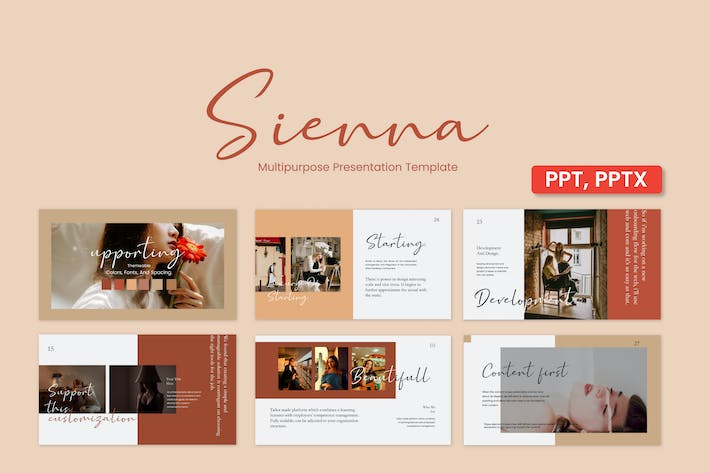 Thumbnail for Sienna Powerpoint Template - JJ