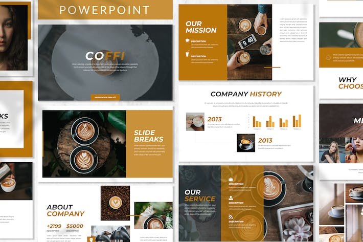 Thumbnail for Coffi - Business Powerpoint Template