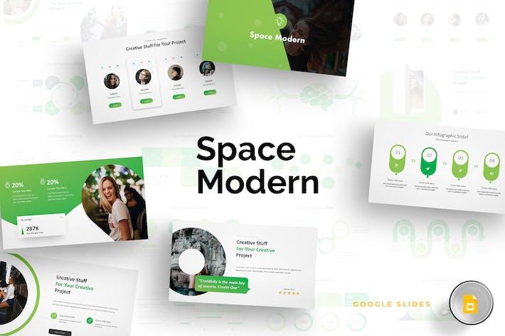 Thumbnail for Space Modern - Google Slides Template