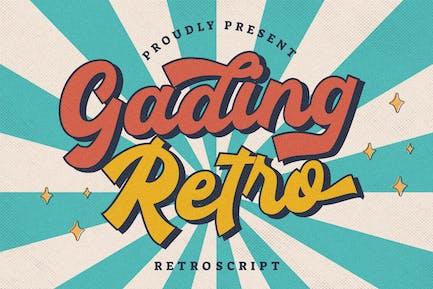Gading Retro Retro Guión
