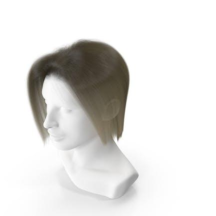 Female Hair Blonde Short