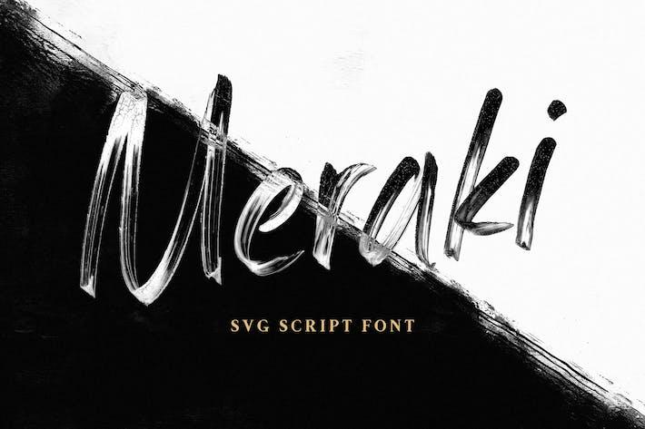 Thumbnail for Meraki SVG Script Fuente