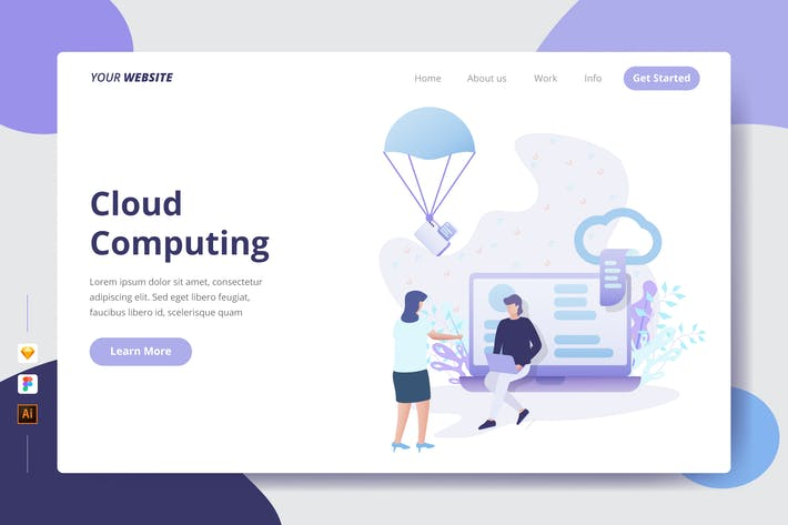 Cover Image For Cloud Computing - Landing Page