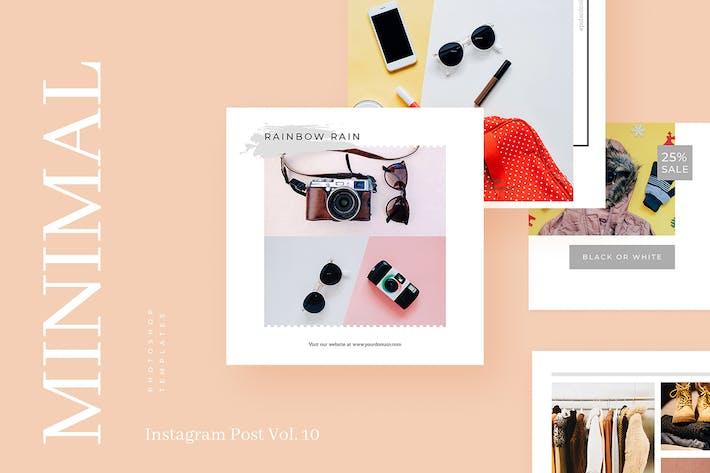 Thumbnail for Minimal Instagram Post Vol. 10