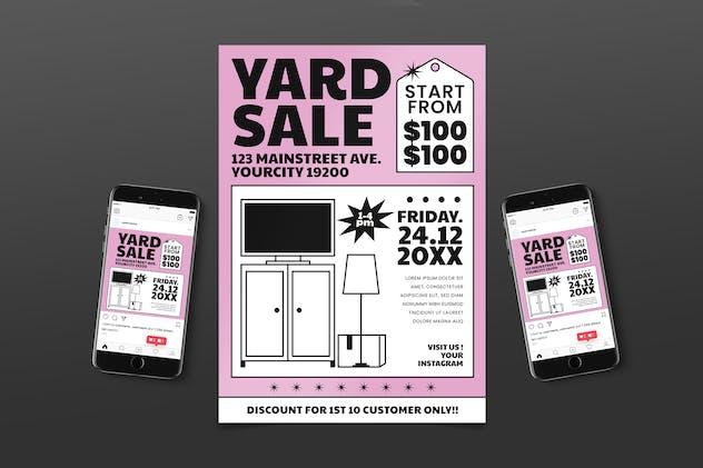 Yard Sale Flyer Pack