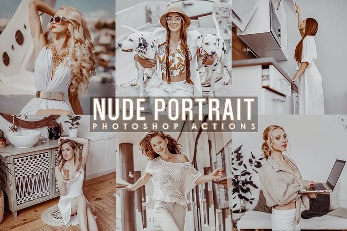Thumbnail for Nude Portrait Actions