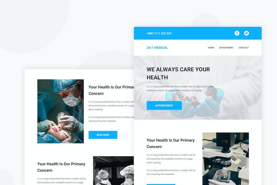 Medical - Email Newsletter