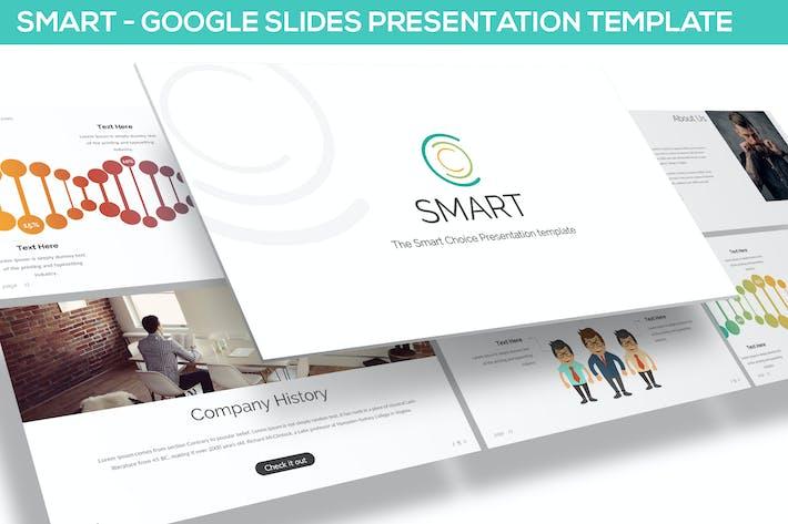 Thumbnail for Smart - Google Slides Template