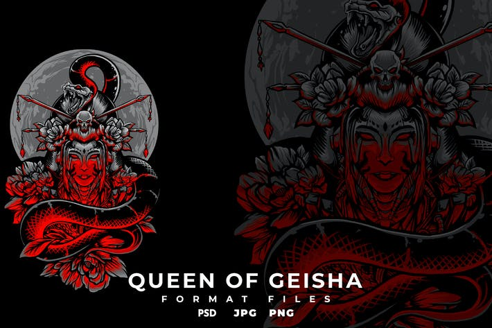 Thumbnail for Queen of geisha