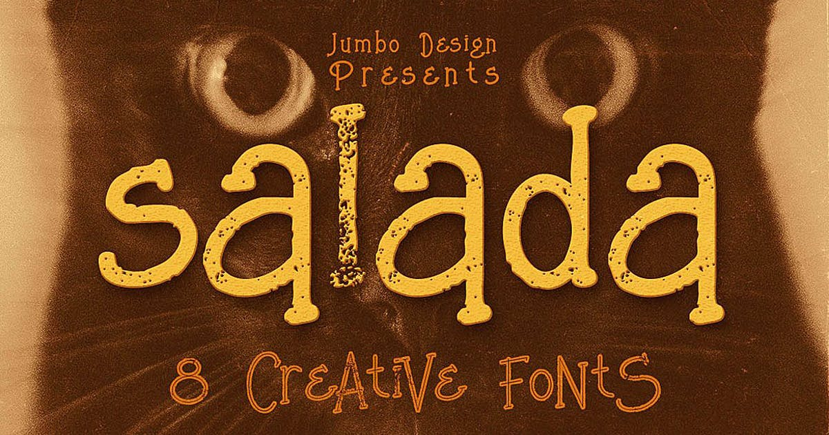 Download Salada - Funny Style Font by cruzine