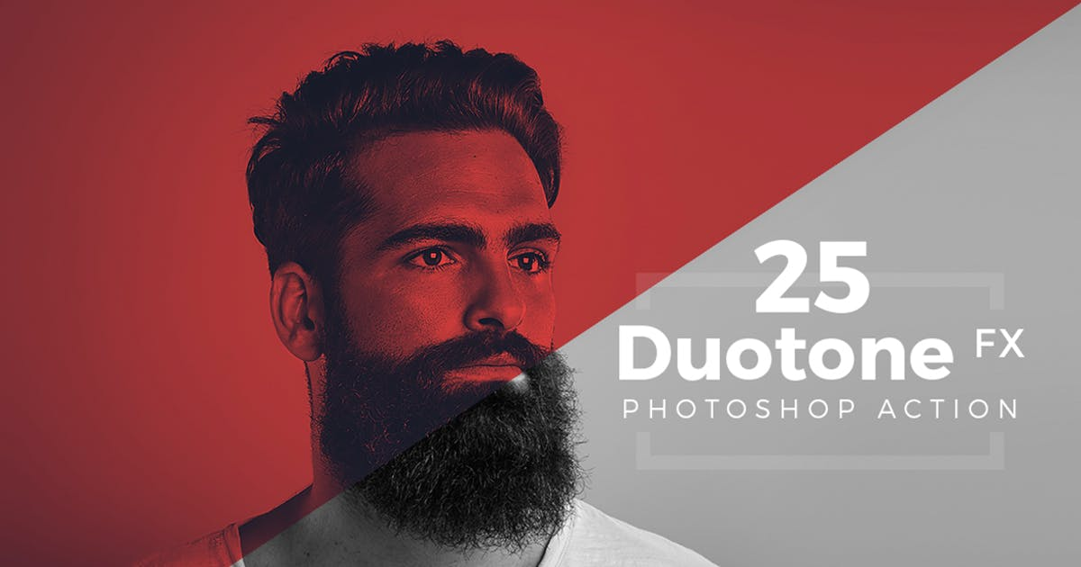 Download Duotone Photoshop Action Pack by micromove