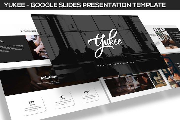 Thumbnail for Yukee - Plantilla Multifunción Google Diapositivas