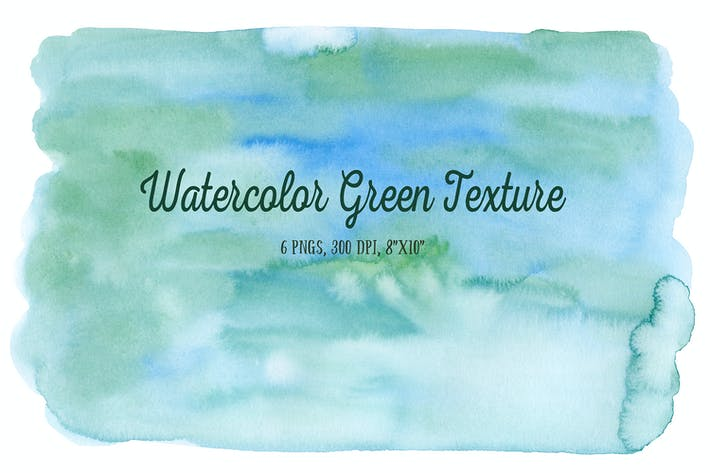 Thumbnail for Watercolor Green Texture