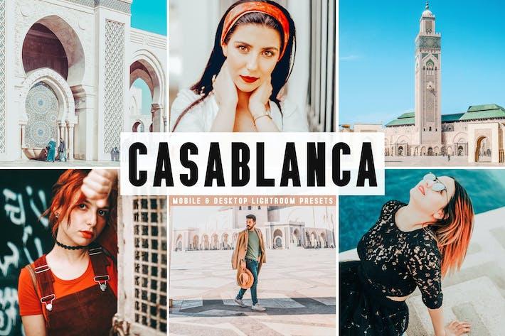 Thumbnail for Casablanca Mobile & Desktop Lightroom Presets