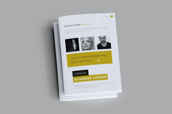 Thumbnail for Urban  Business Brochure Template