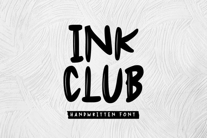 Thumbnail for Ink Club - Handwritten Font