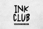 Ink Club - Handwritten Font