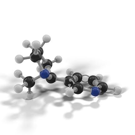 Molécula de nicotina