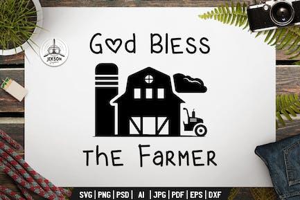 Farming Badge Design. Farm Label Template