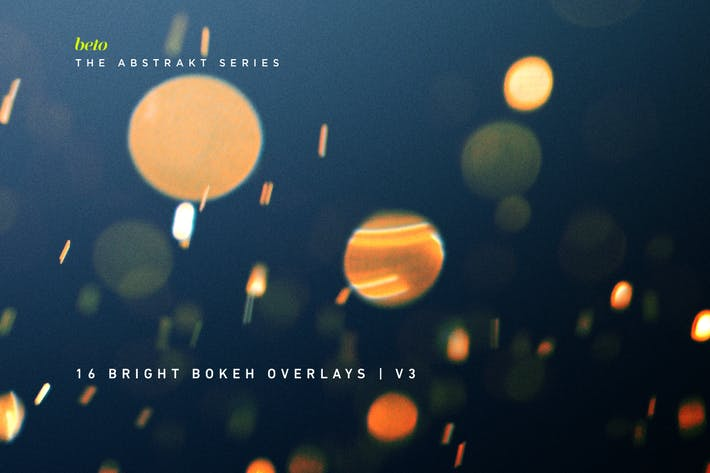 Cover Image For Color Bokeh Overlays V3