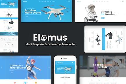 Эломус - один продукт Prestashop Тема