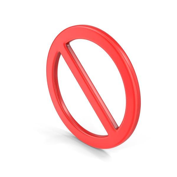 Bann-Symbol