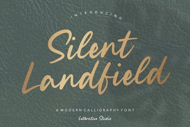 Silent Landfield Script Font YH