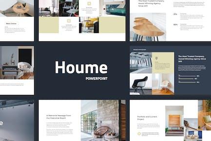 Houme - Modern Powerpoint Presentation