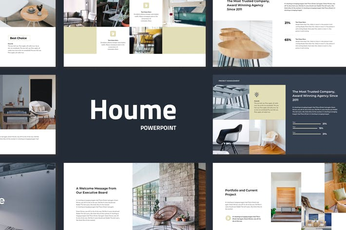 Cover Image For Houme - Modern Powerpoint Presentation