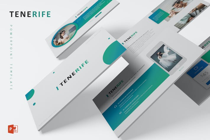 Cover Image For Tenerife - Powerpoint Template