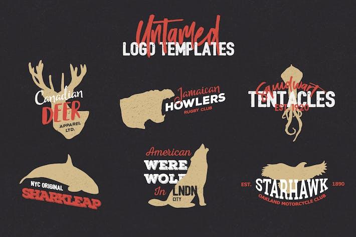 Thumbnail for Untamed Logo Templates