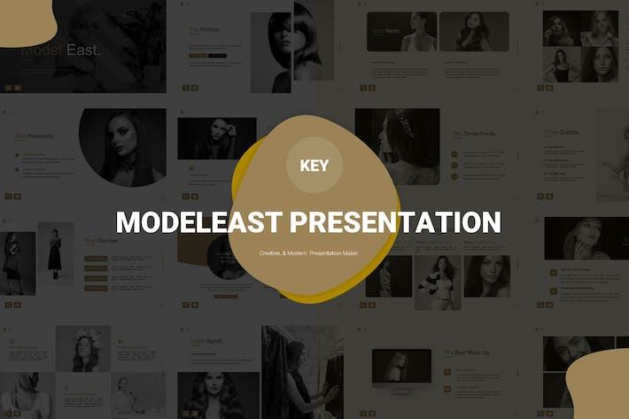 Thumbnail for Модель Восток - Шаблон Keynote