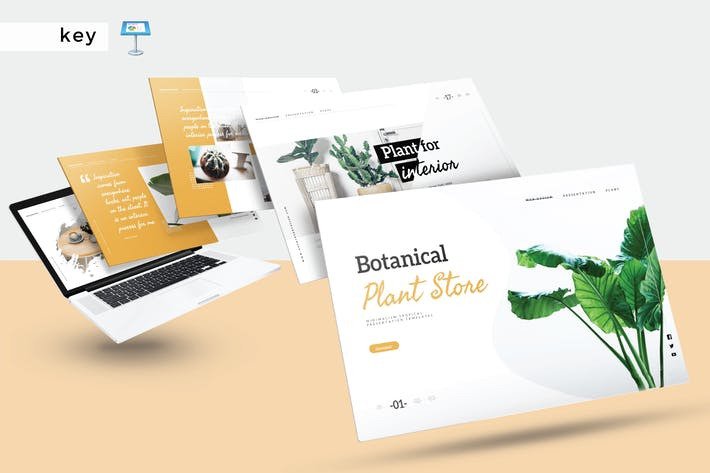 Thumbnail for BOTANICAL PLANT STORE - Keynote V340