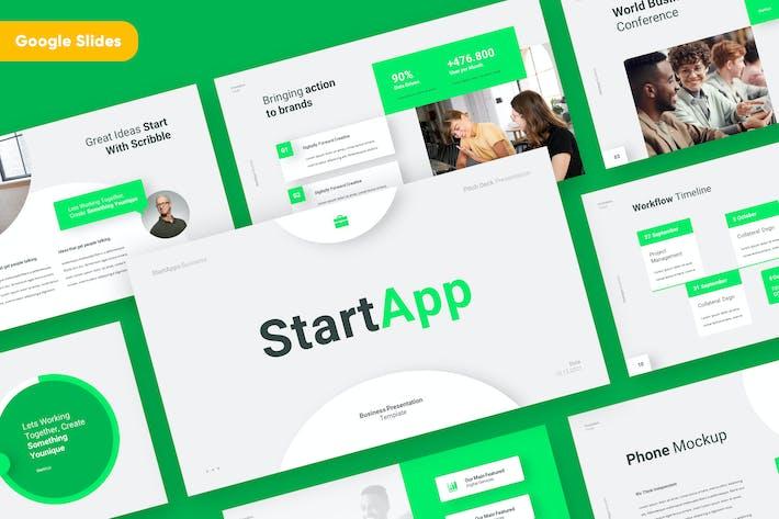 Thumbnail for STARTAPP - Business Startup Google Slides Template