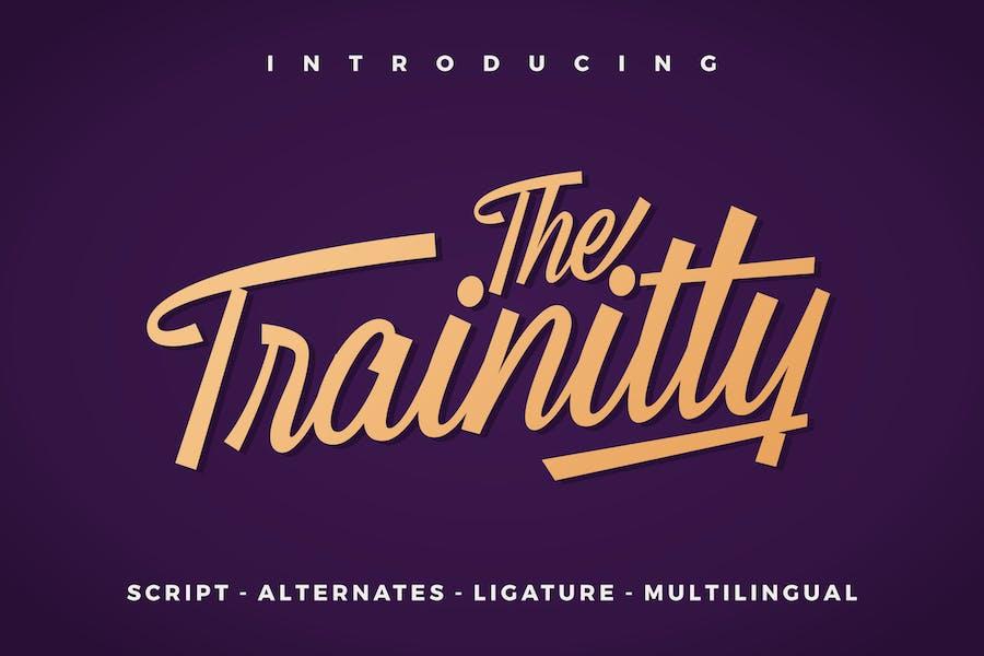 Trainitty Vintage Script