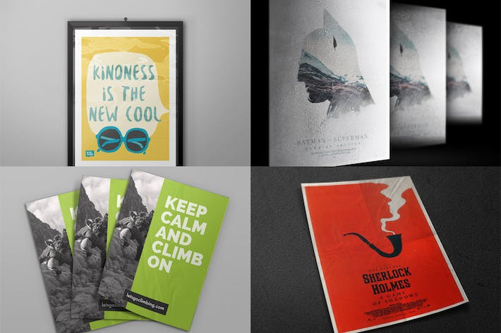 "Download 241 ""flyer"" Product Mockups in RGB Color Mode"