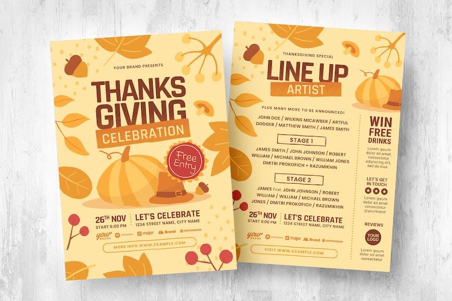 Fall / Thanksgiving Flyer