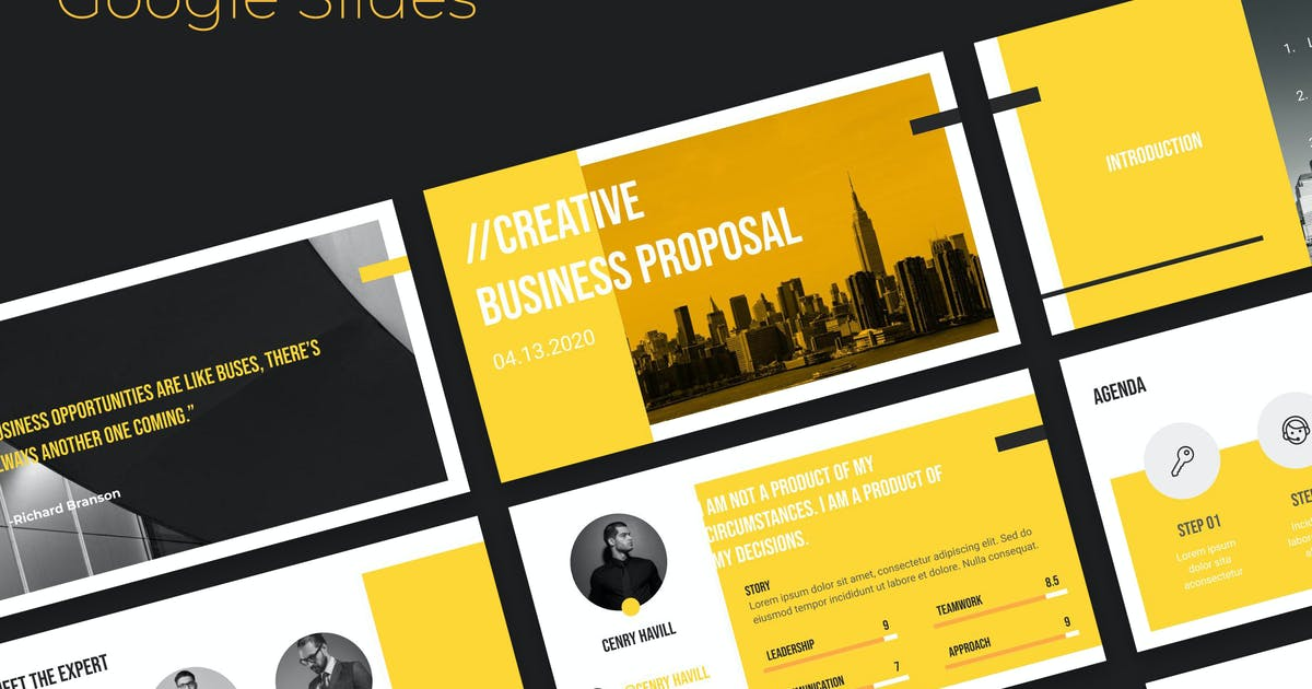 Download Business Proposal Google Slides by atsar