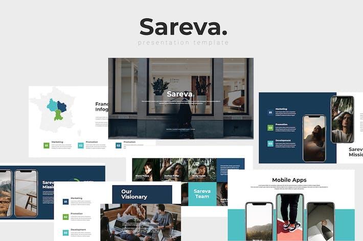 Thumbnail for Sareva - Modelo de Apresentações Google Multiusos