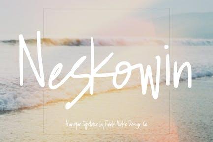 Neskowin Font + Ligaduras divertidas