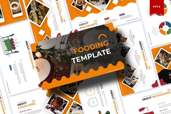 Thumbnail for Fooding | Powerpoint Template