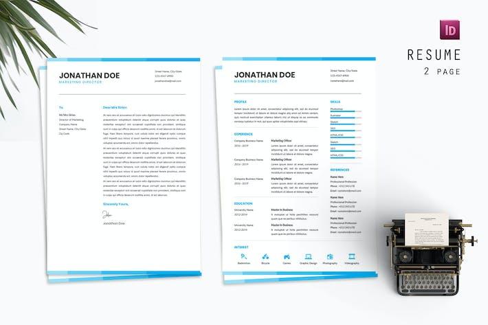 Marketing Clean Resume