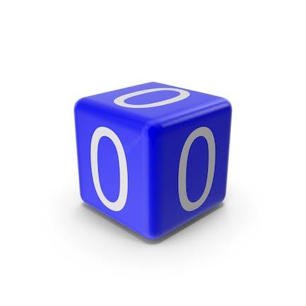 Blue 0 Block