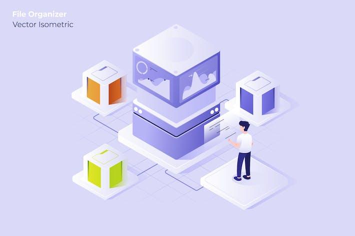 Big Data - Vector Illustration