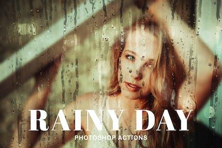 Rainy Day Photoshop Actions