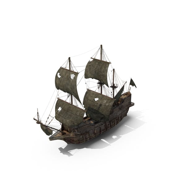 Cover Image for Damaged Pirate Ship