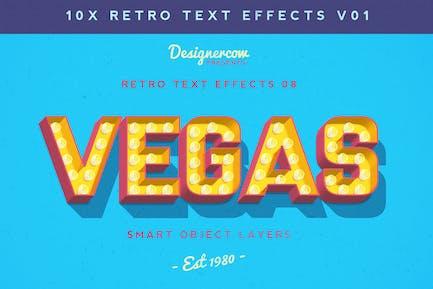 Retro Text Effects V01