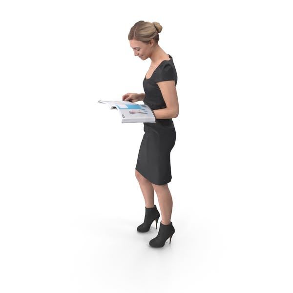 Office Woman Posed